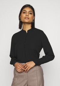 Selected Femme - SLFDYLANA - Button-down blouse - black - 0