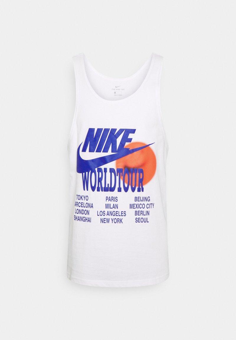 Nike Sportswear - TANK WORLD TOUR - Linne - white