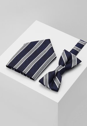 ONSTBOX TYLER BOW TIE AND HANKERCHIEF SET - Pocket square - dress blues
