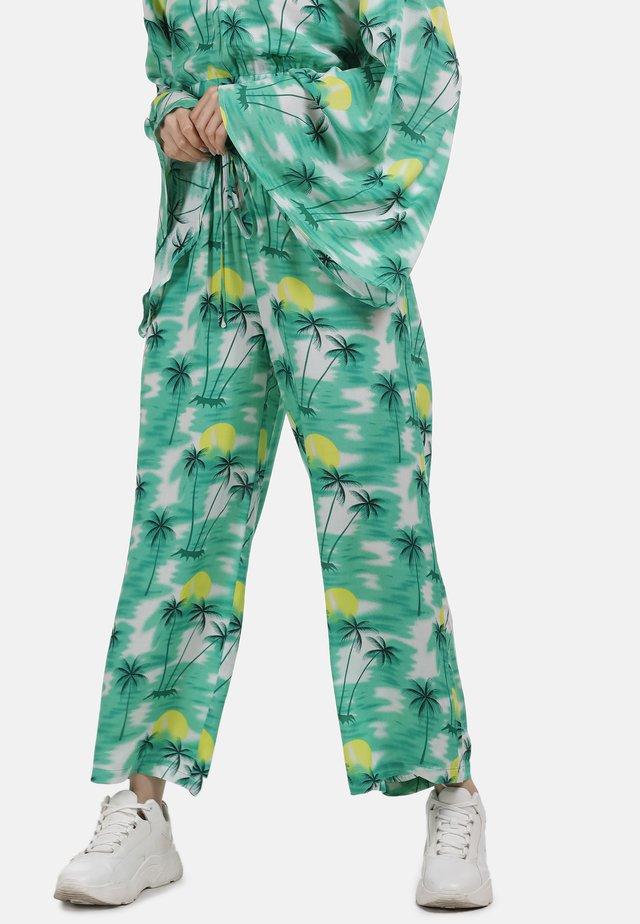 Spodnie materiałowe - tropical