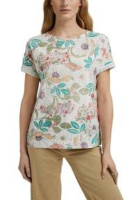 Esprit - Print T-shirt - turquoise colorway - 5