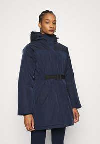 Hunter ORIGINAL - WOMENS ORIGINAL INSULATED - Zimní kabát - navy - 0