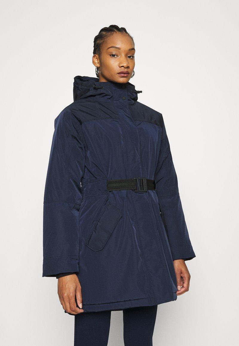 Hunter ORIGINAL - WOMENS ORIGINAL INSULATED - Zimní kabát - navy