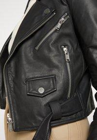 Deadwood - JOAN JACKET - Leather jacket - black - 7