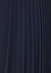 Lauren Ralph Lauren - DRAPEY SKIRT - A-linjainen hame - french navy - 5