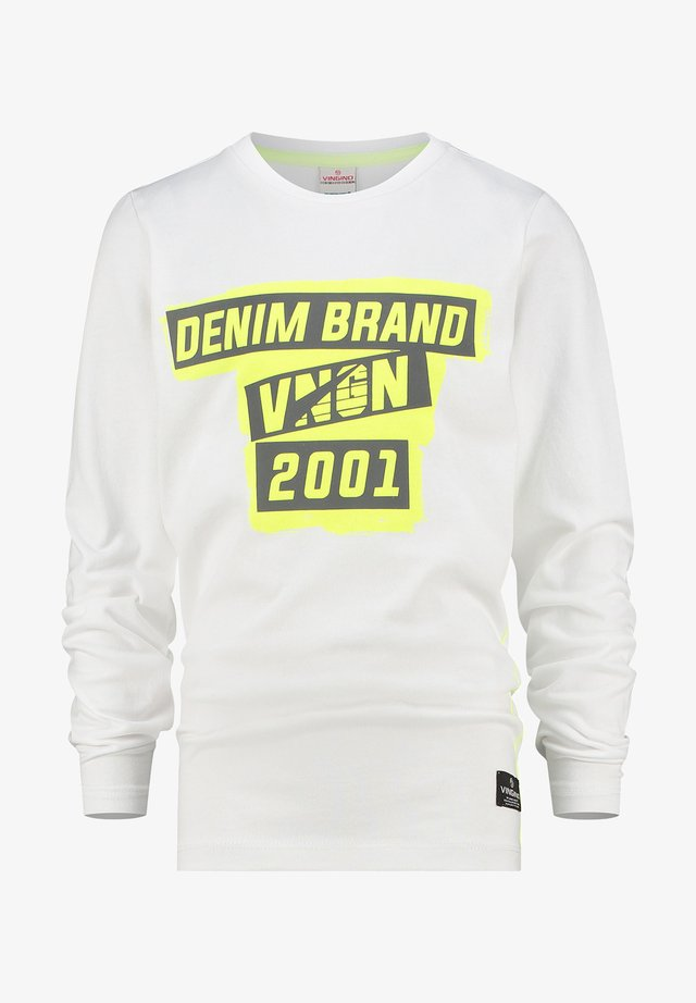 HECTIVE - Longsleeve - real white