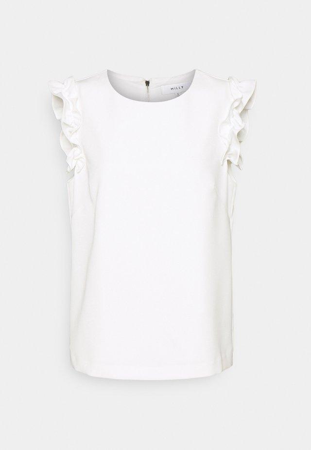 DYLAN CADY COMBO - Basic T-shirt - ecru