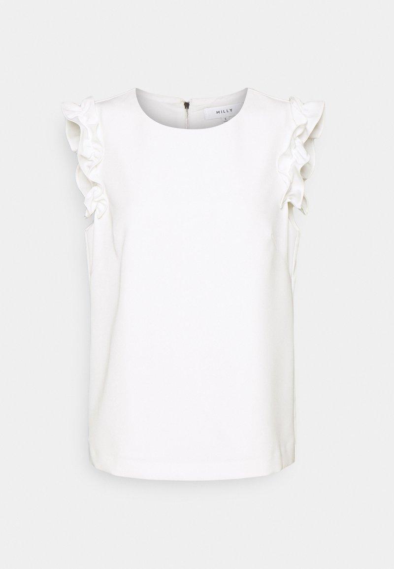Milly - DYLAN CADY COMBO - Basic T-shirt - ecru