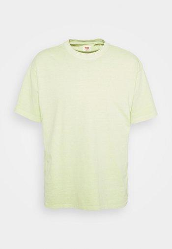 VINTAGE TEE - Jednoduché triko - greens