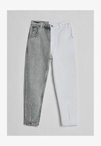 Bershka - IM MOM  - Jeans baggy - grey - 4