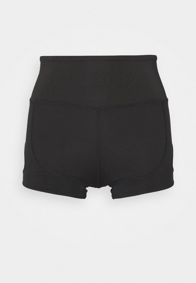 KEYHOLE SHORT - Leggings - black