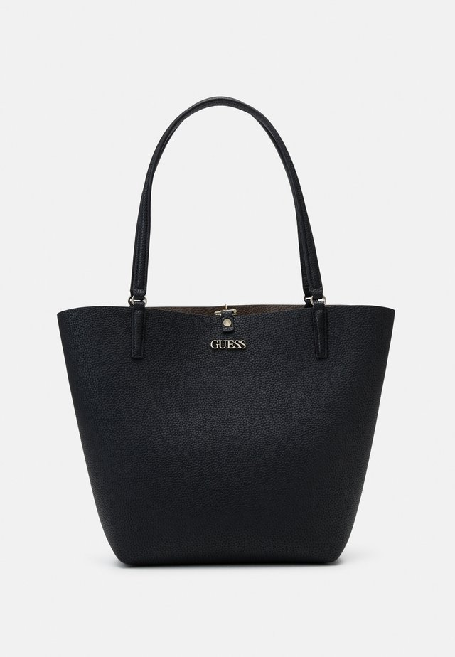 Shopping bag - black/iron