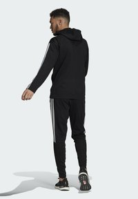 adidas Performance - ADIDAS SPORTSWEAR RIBBED INSERT TRACKSUIT - Survêtement - black - 2