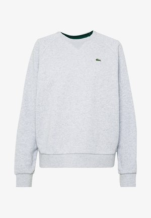 Sweatshirt - silver chine/green