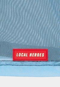 Local Heroes - JOLIE TURTLENECK - Long sleeved top - black/light blue - 2