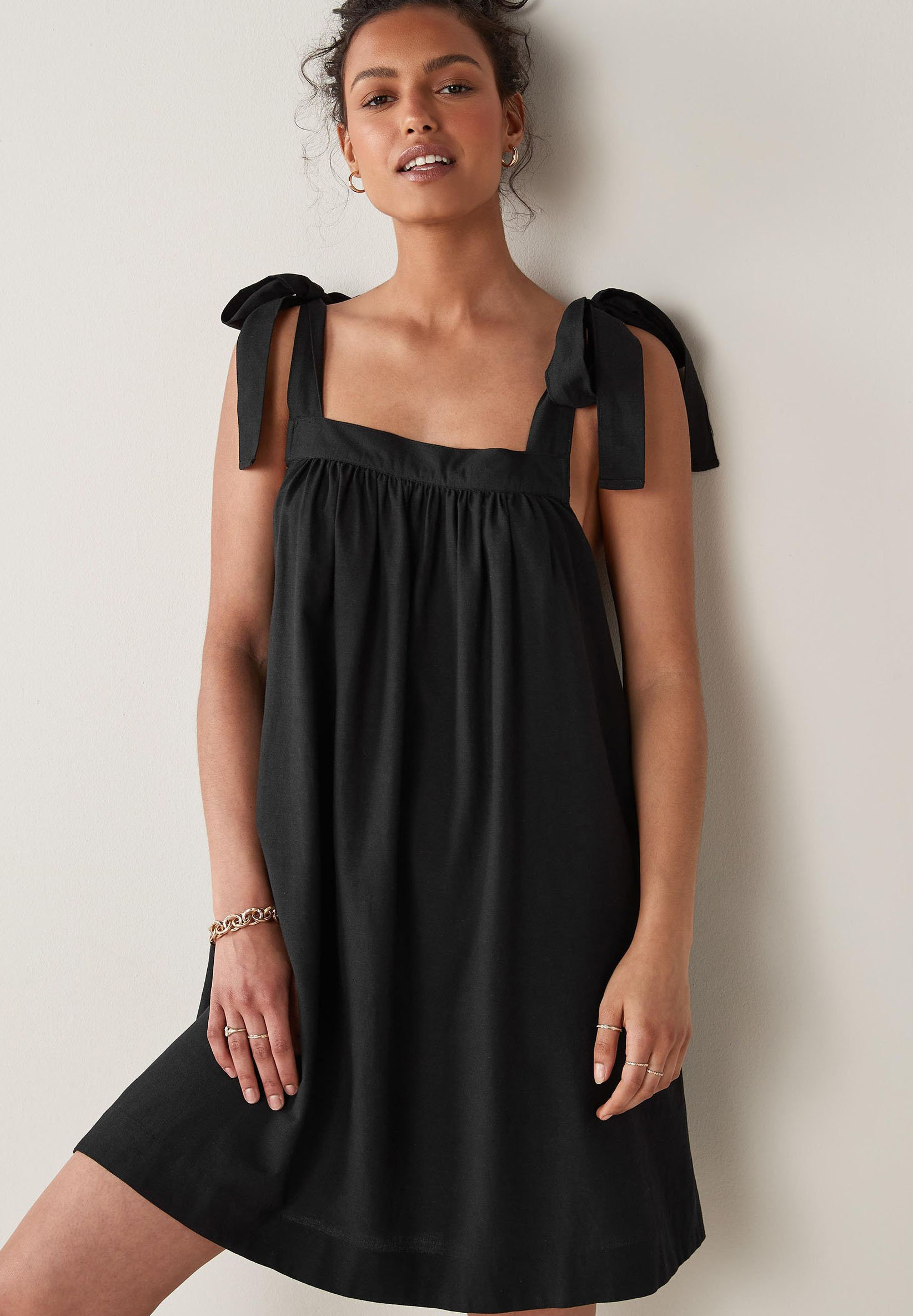 Mujer TIE SHOULDER MINI - Vestido informal