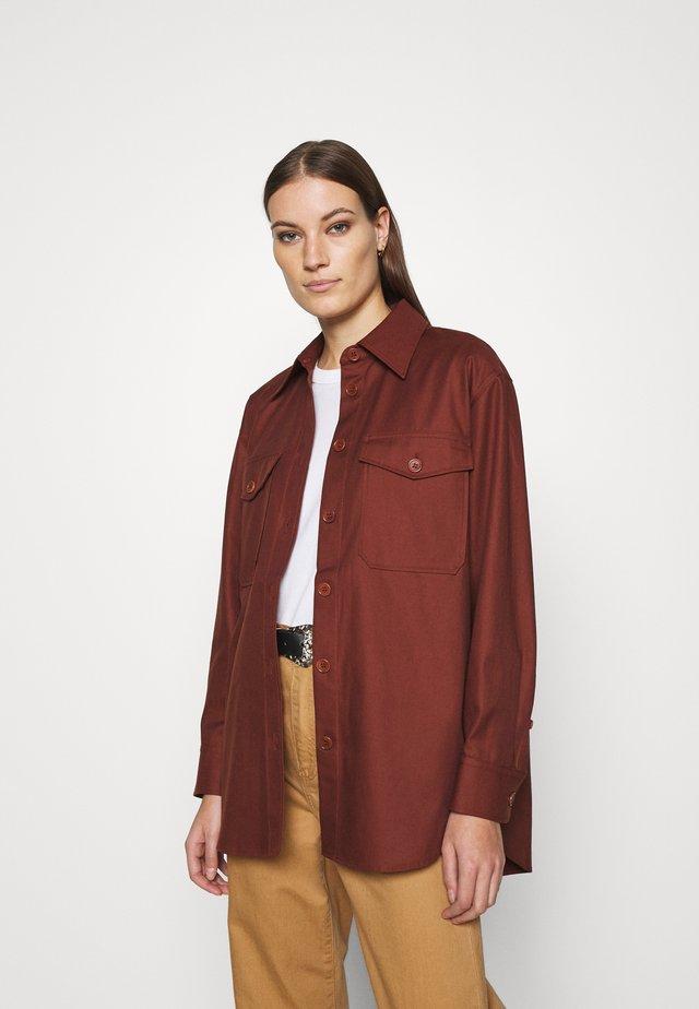 Summer jacket - brown medium