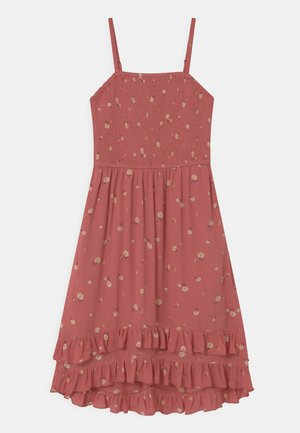 MIDI - Day dress - rust