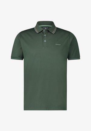 Poloshirt - dark green plain
