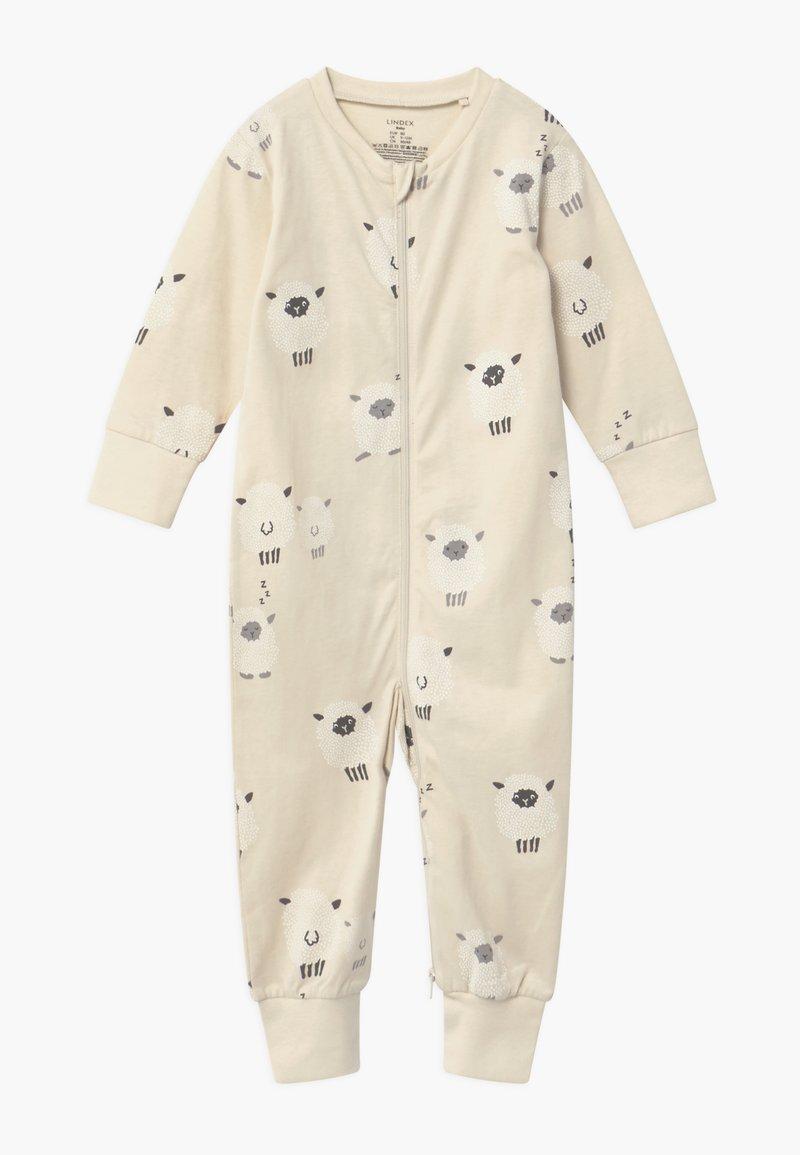 Lindex - SHEEP AT BACK - Pyjama - light beige