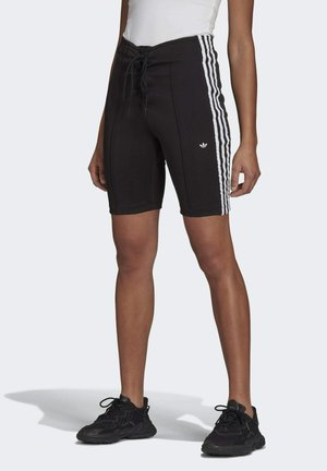 LACED ORIGINALS TREFOIL MOMENTS SHORTS FITTED - Shorts - black