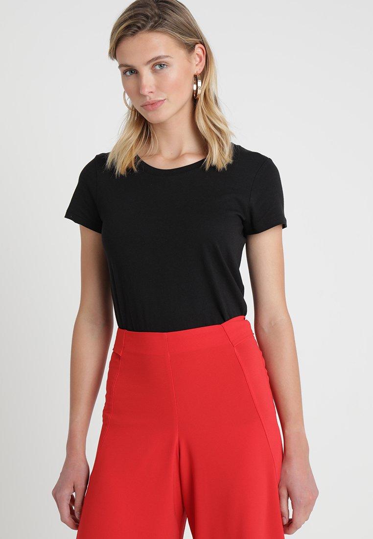 GAP - FAV CREW - Basic T-shirt - true black