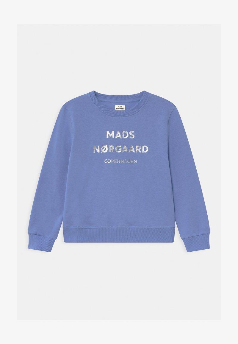 Mads Nørgaard - Mikina - blue violette