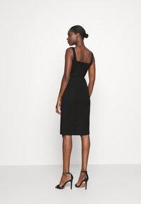 Banana Republic - NECK SHEATH SOLID - Day dress - black - 2