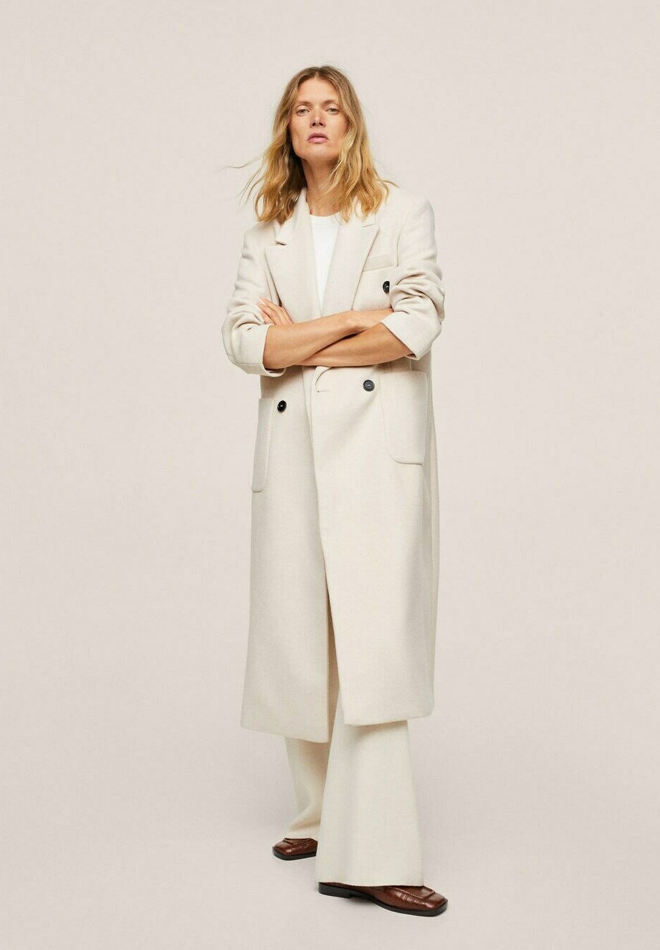 Women DOUBLE-BREASTED - Classic coat