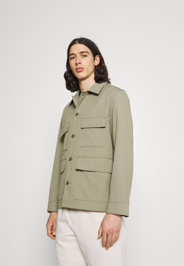 LIGHT JACKET - Summer jacket - khaki green
