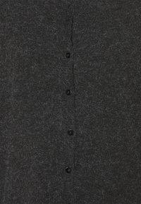 ONLY - ONLRICA LIFE BUTTON - Kardigan - black melange - 2