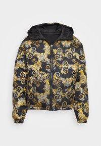 Versace Jeans Couture - RISTOP PRINTED LOGO BAROQUE - Down jacket - nero - 2