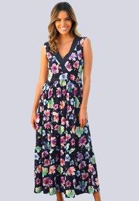 Alba Moda - Day dress - marineblau - 0