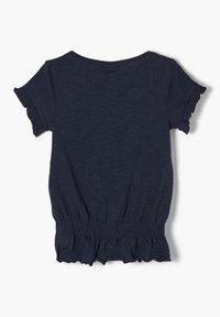 s.Oliver - Print T-shirt - dark blue - 1