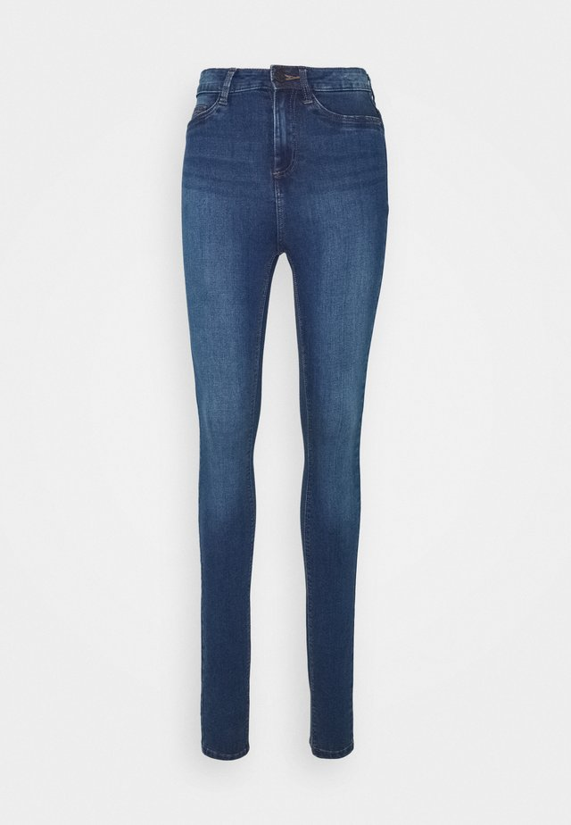 NMCALLIE JEANS - Jeans Skinny Fit - medium blue denim