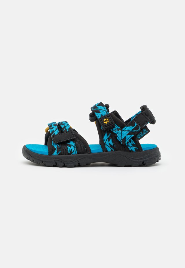 2 IN 1 UNISEX - Outdoorsandalen - black/blue