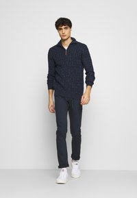 INDICODE JEANS - ALLAN - Trousers - navy - 1