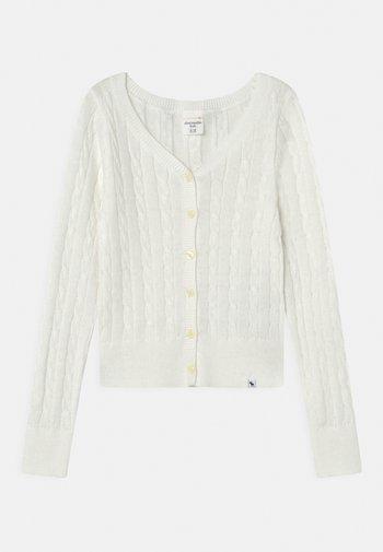 UNIFORM  - Cardigan - white