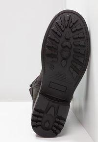 Bullboxer - Kovbojské/motorkářské boty - black - 6