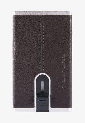 SQUARE - Visitenkartenetui - dark brown