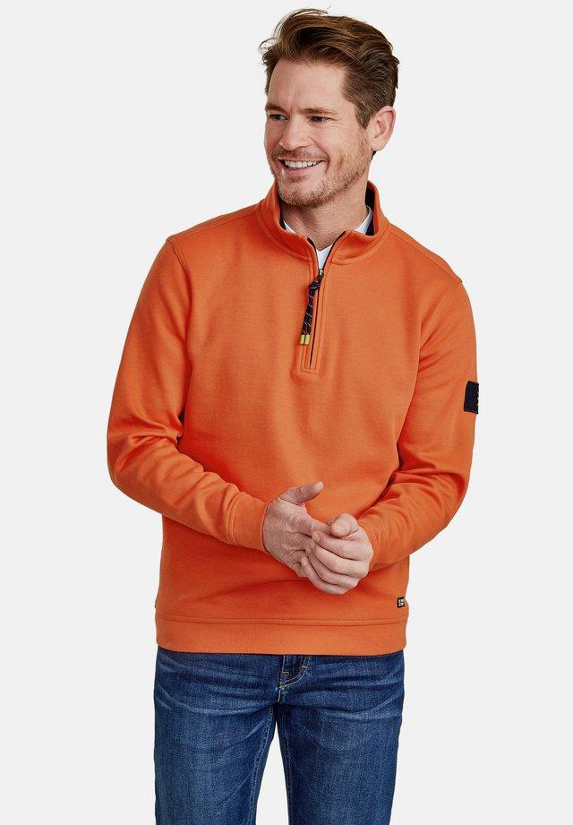 MIT STEHKRAGEN - Jumper - strong orange