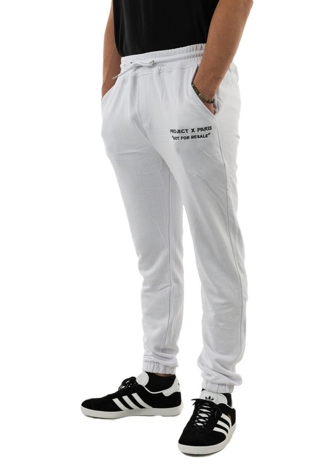 Pantalon de survêtement - blanc