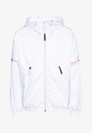 WINDBREAKER - Waterproof jacket - white