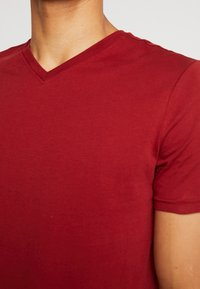 Benetton - Basic T-shirt - red - 5
