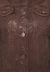 Freaky Nation - JUST FANCY - Leather jacket - tabacco - 2