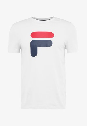 ROBIN - Print T-shirt - white