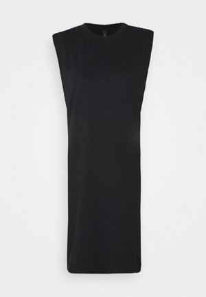 YASSARITA PADDED SHOULDER - Jersey dress - black