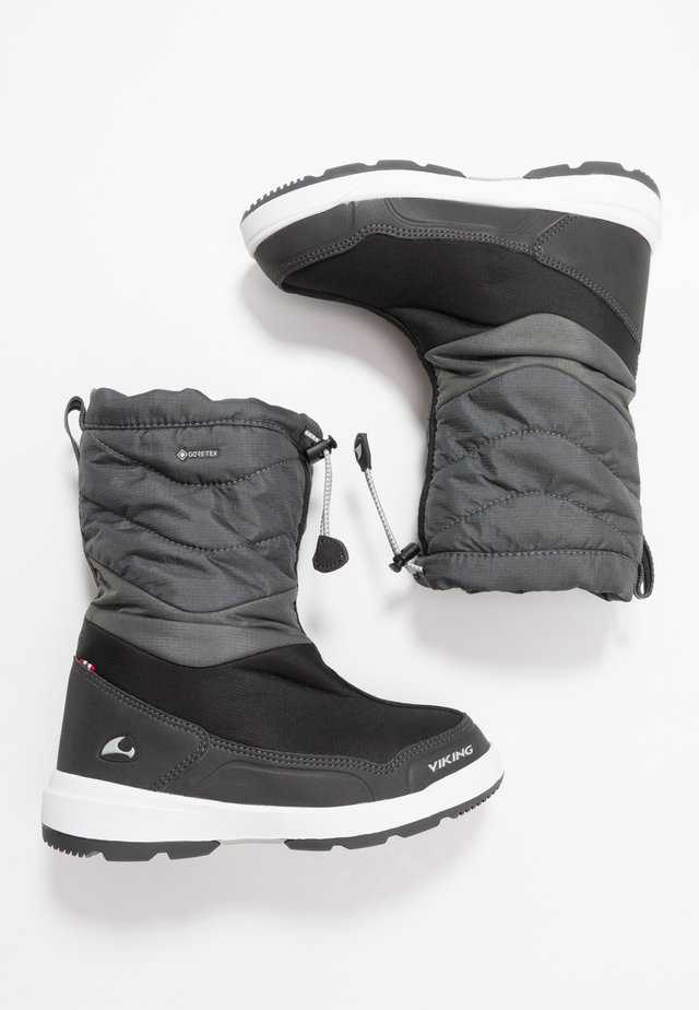 HALDEN GTX - Śniegowce - black/charcoal
