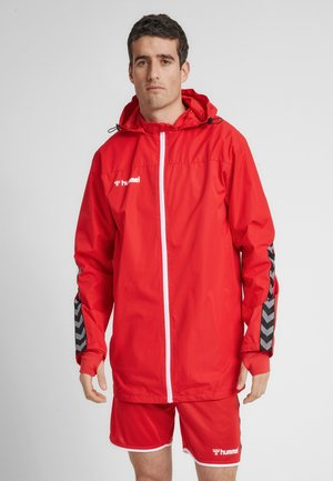 HMLAUTHENTIC ALL-WEATHER  - Light jacket - true red