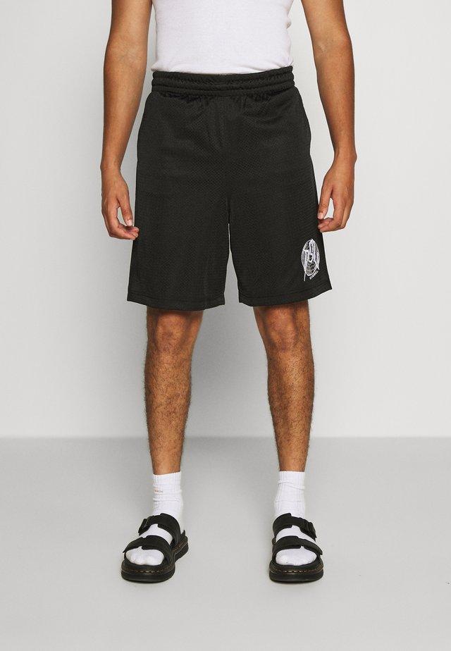 P-FRAKLE SHORTS - Shorts - black